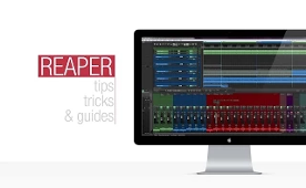 Reaper: Auto Colour Child Tracks Quick Tip Tutorial
